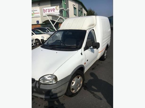2000 Vauxhall Combo Van- White 1.7 Diesel