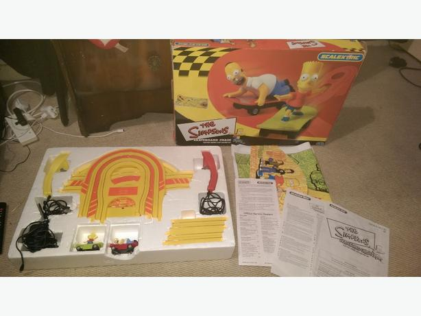 Simpsons scalextric