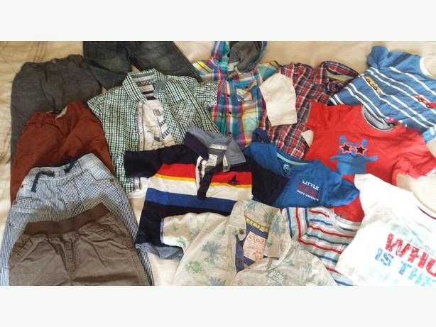 20 item boys clothes bundle age 12 to 18 months