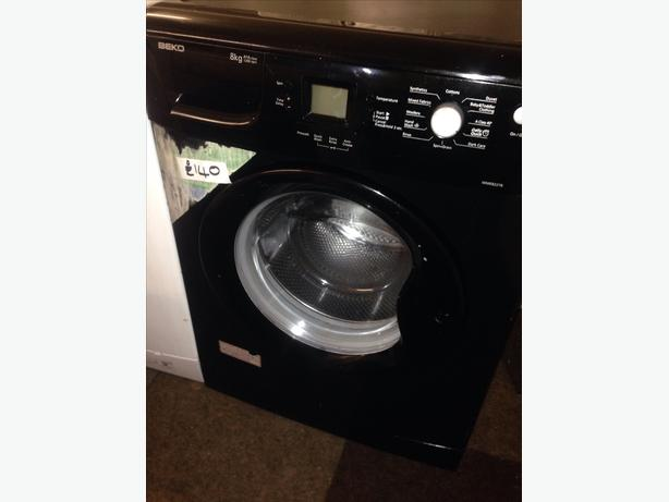 BLACK BEKO 8KG WASHING MACHINE002
