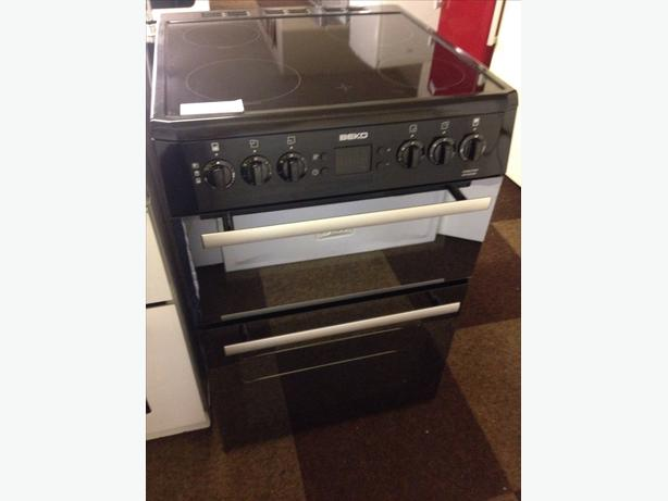 BEKO 60CM DOUBLE OVEN ELECTRIC COOKER039