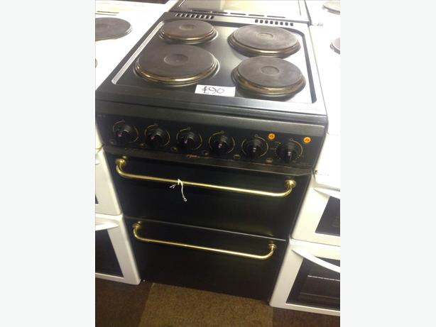 HOTPOINT 50CM PLATED TOP ELECTRIC COOKER039