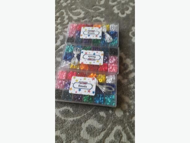 Disney frozen aqua beads and bead sets