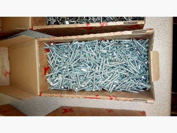Boxes of screws / tacks