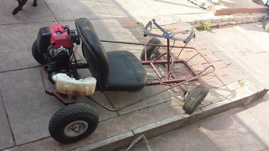 how to build a petrol go kart