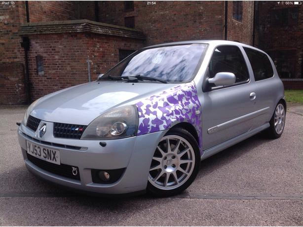 Clio Sport, Highly Moded, PX to clear