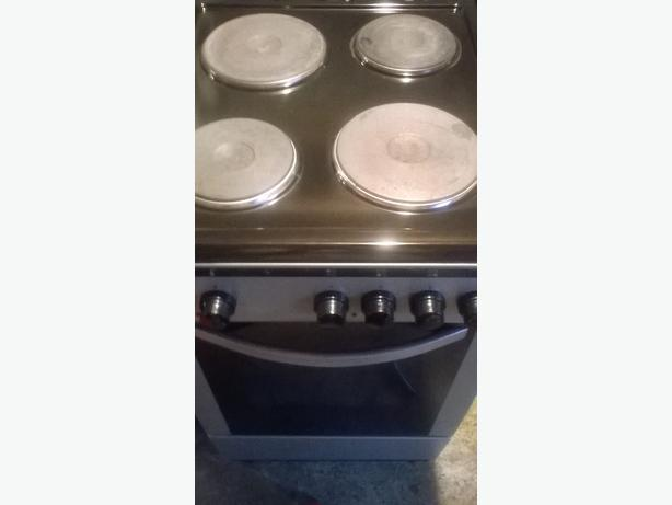 lovely silver electric cooker