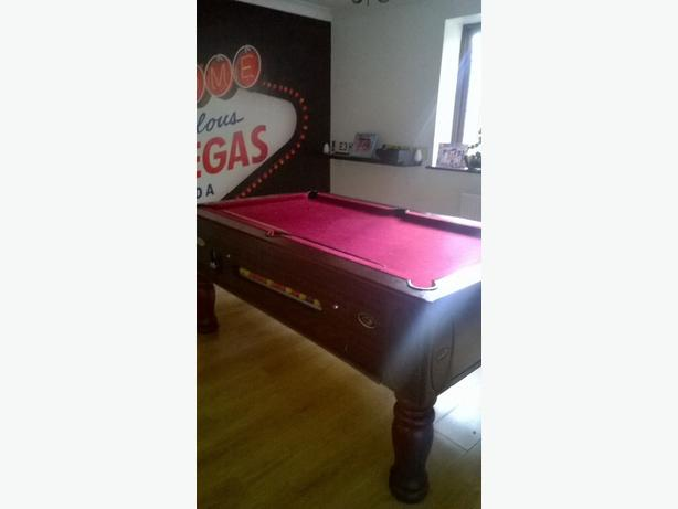 ascot pool table