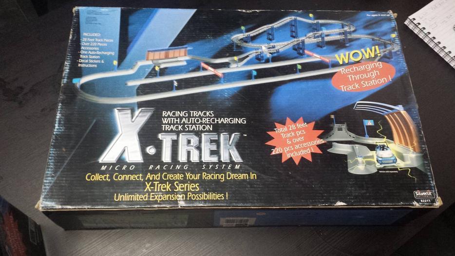 X Trek Micro Racing System Cars