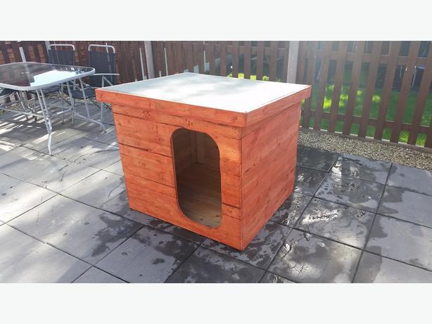 Large handmade dog kennel