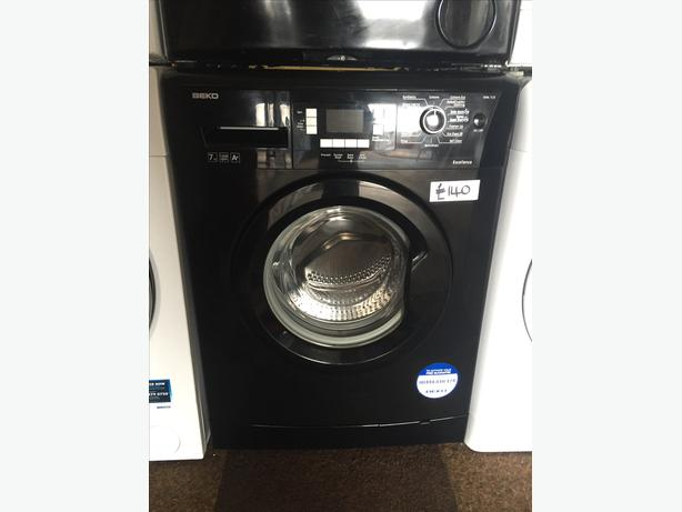 GREAT VALUE- BLACK BEKO WASHING MACHINE WITH LCD - GUARANTEED