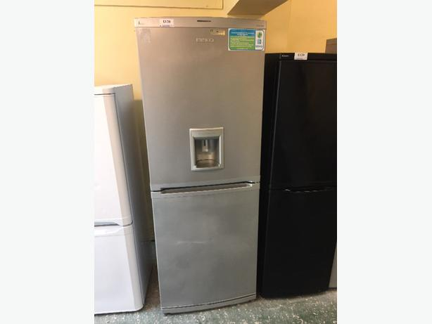 🚚🚚 Water dispenser huge silver fridgefreezer