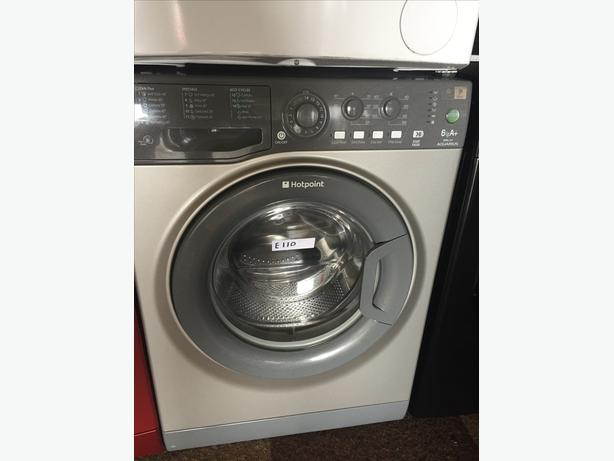 GREAT VALUE GRAPHITE GREY HOTPOINT WASHING MACHINE WITH GUARANTEE