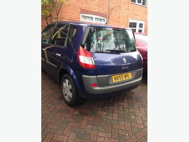 55 plate scenic 2.0 vvt mot/taxed px/swap welcome