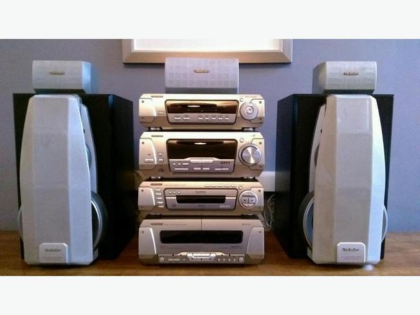 Technics SH EH790 5 speaker Stereo System