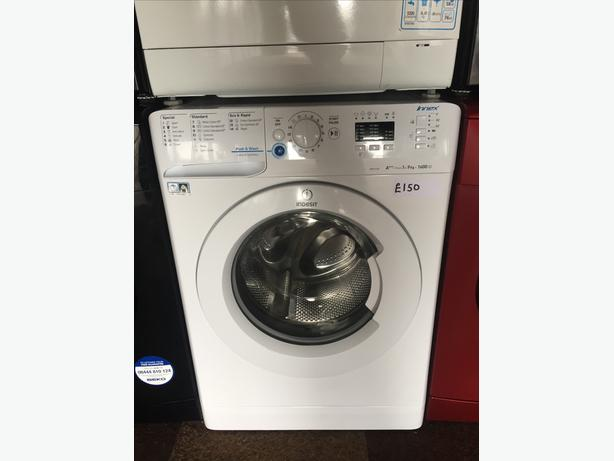 INDESIT WASHING MACHINE- 9KG LOAD WITH GUARANTEE