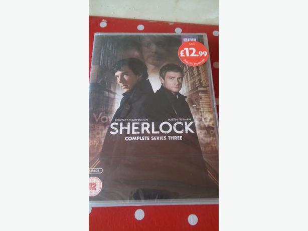 Sherlock complete series 3 dvd sealed