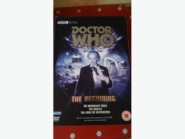 doctor who the beginning dvd boxset