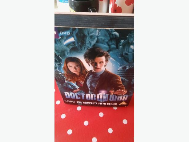 doctor who complete 5th series dvs boxset