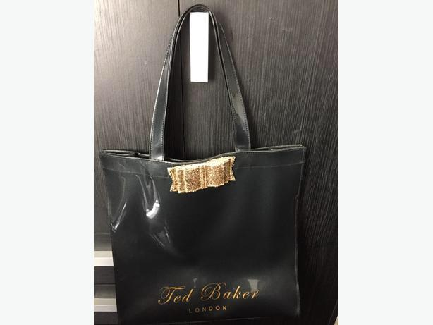 Black Ted Baker bag.