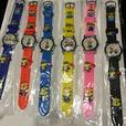 3D KIDS SILICONE STRAP WATCHES . MINIONS. SPIDERMAN AND FROZEN PRINCESS