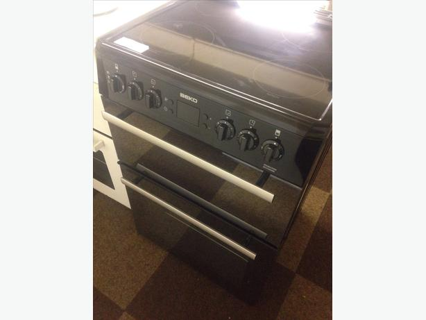 BEKO 60CM DOUBLE OVEN ELECTRIC COOKER028