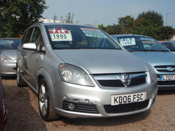 Vauxhall Zafira 1.9 CDTi 16v SRi 5dr