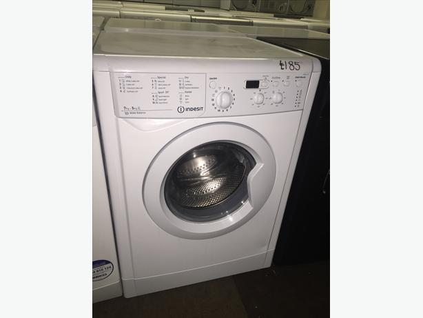 LOOK !! NEW MODELS INDESIT WASHER DRYER WITH GUARANTEE