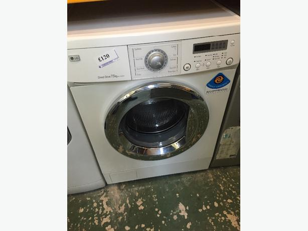 🚚LG washer 7.5kg free delvery