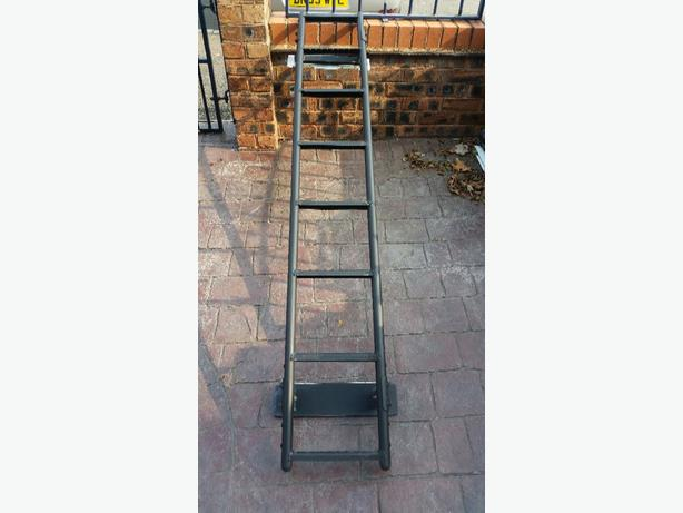 Van ladder for back doors