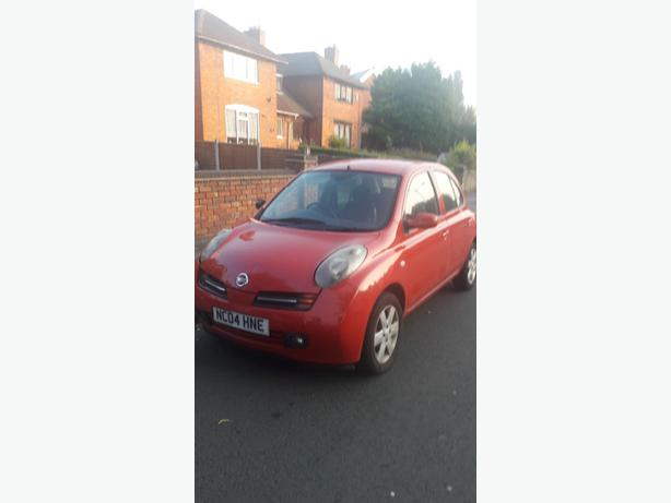 nissan micra sx 04 plate 6 month m.o.t