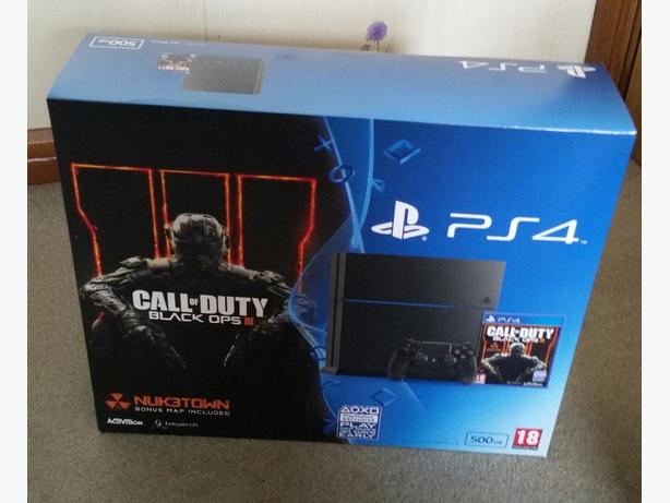 Ps4 brand new in box with black ops call of duty game