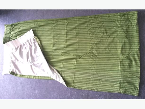 **FREE** Retro style green curtains