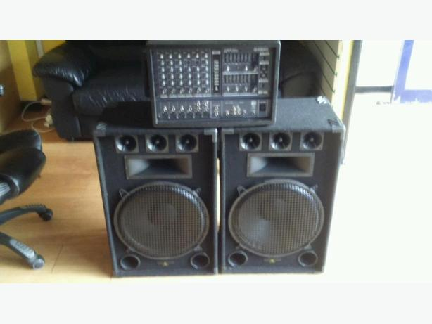 PA SYSTEM FOR BAND OR DJ