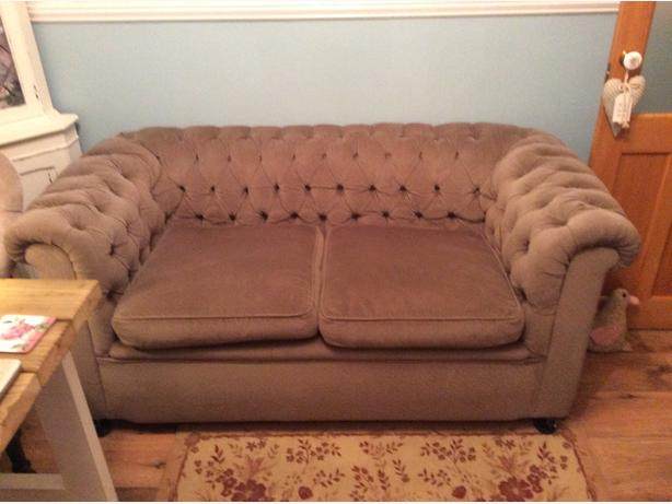 Vintage chesterfield settee