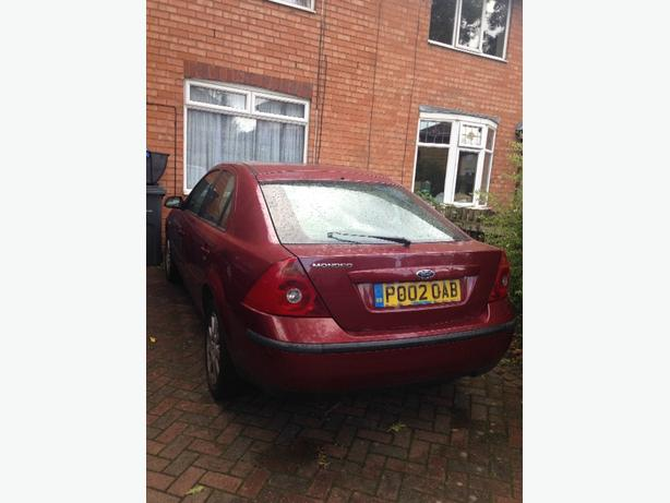 2002 mondeo 1.8 tax n tested