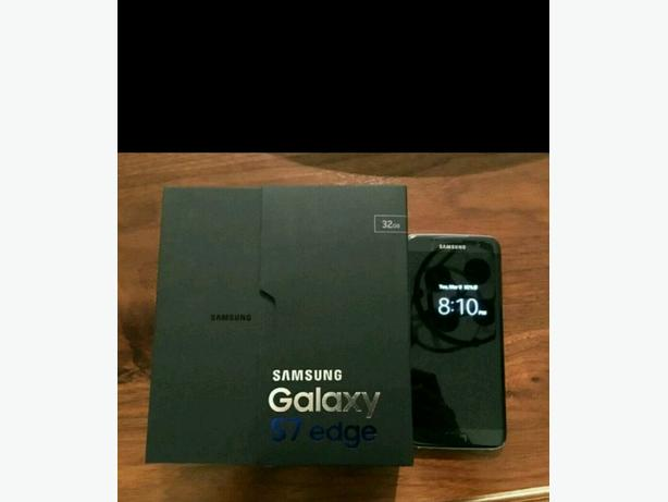 Samsung S7 Edge - Black Onyx, Mint Condition, on EE. Kodi.