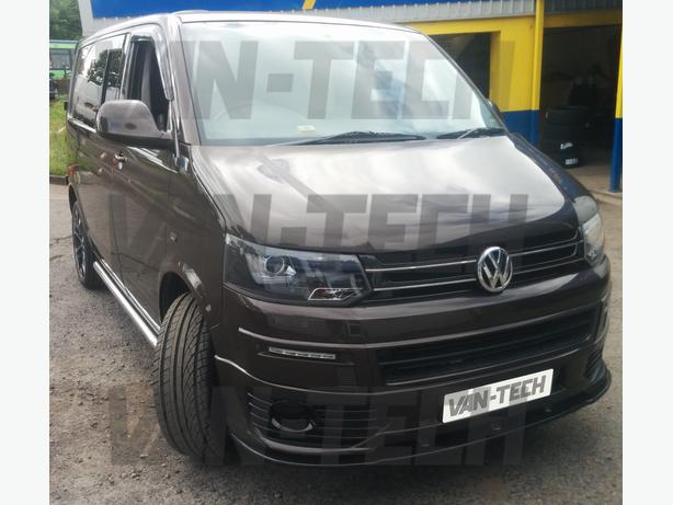 VW Transporter T5 to T5.1 facelift conversion inc parts painting and fitting!