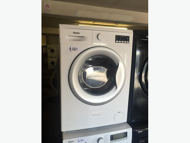 HAIER WASHING MACHINE- GRADED ITEM - NEW PRICE