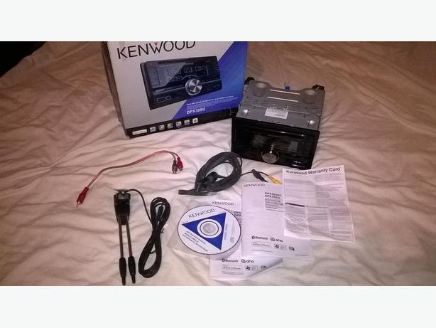 kenwood double din cd mp3 player