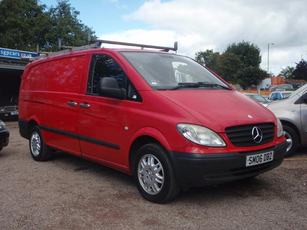 Mercedes-Benz Vito 2.1 115CDI Dualiner Basic Panel Van - Long 5dr