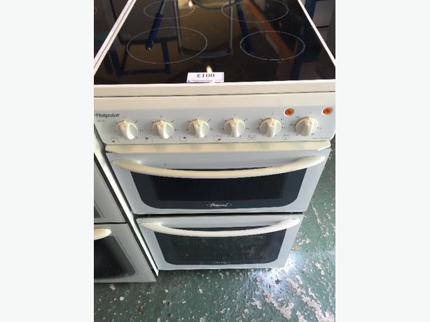 ☀️🏵 hotpoint 50cm glass top cooker