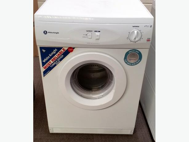 WHITE KNIGHT 6KG VENTED TUMBLE DRYER + WARRANTY