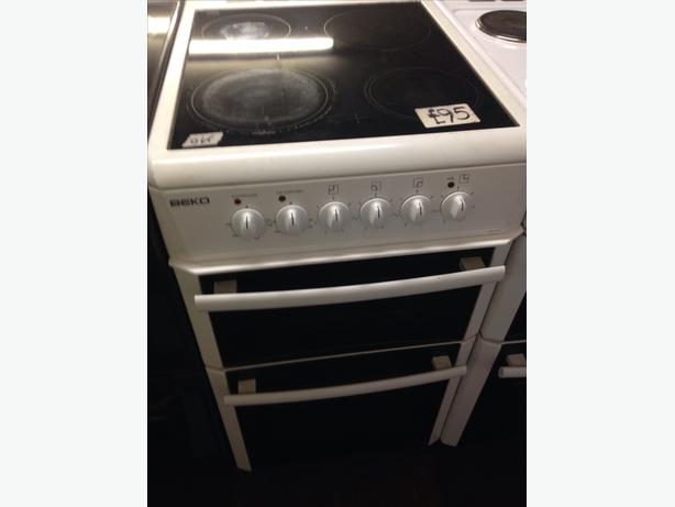 BEKO DOUBLE OVEN ELECTRIC COOKER10