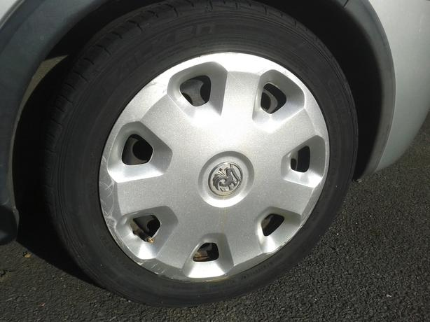 x 4 Vauxhall Corsa C 00-06 Wheels With Tyre