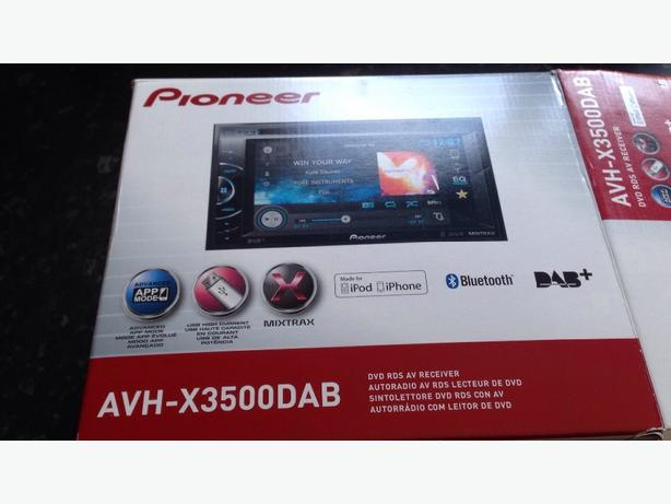 Pioneer Avh-x3500dab dvd player