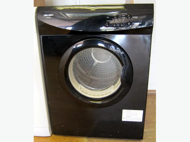 Bush Black Vented Dryer, 6kg Capacity, 6 Month Warranty