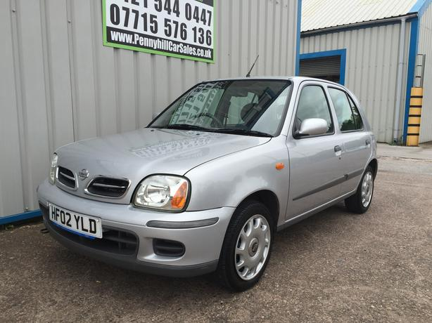 2002 Nissan Micra 1.3 SE Automatic *CHEAP AUTOMATIC*