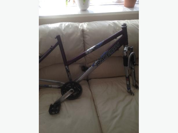 raleigh ladies frame and forks