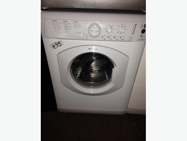 6KG HOTPOINT WASHING MACHINE010
